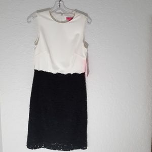 Betsey Johnson Lace Party Dress Size 6 NWT